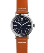 Filson F0110000334 Scout Quartz Brown Leather & Stainless Steel Mens Watch - $386.09
