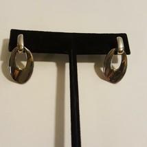 Anne Klein Silver Tone Pierced Earrings Dangle - $16.52
