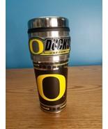 NCAA Oregon Ducks Stainless Steel Emblem Travel Tumbler Sports Team Trac... - $14.80