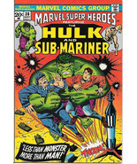 Marvel Super-Heroes Comic Book #38, Marvel Comics 1973 FINE-/FINE - $2.75