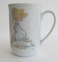 "1993 Precious Moments ""Teacher"" Name Porcelain Collectible Mug By S. But... - $17.99"
