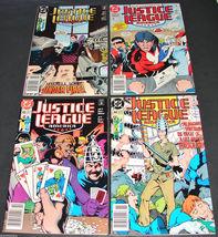 4 1990 DC Comics JUSTICE LEAGUE AMERICA  41, 42, 43, 44 F-VF Comic Books - $12.99