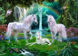 Unicorns  Family  Waterfall   2.5 x 3.5 Fridge Magnet - $3.99