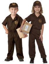 UPS Driver Costume - Toddler - $18.98