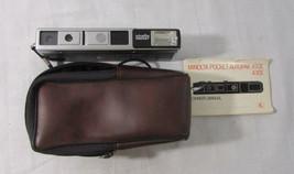 Vintage Minolta Pocket Autopak 450E 110 Camera with Case, Strap & User M... - $11.30