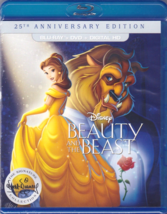 Disney Beauty and the Beast: 25th Anniversary Edition (Blu-Ray + DVD)
