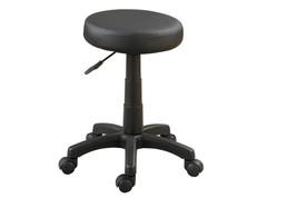 Poundex Round Adjustable Stool Black - $49.80