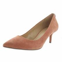 Michael Michael Kors Womens Flex Suede Pointed Toe Kitten Heels, Terra, Size 9.5 - $73.90