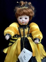 "Marie Osmond 10"" Porcelain Collector Doll Queen Bee Ladybug Ball No Orig... - $18.66"