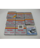 Lot of 9 Vintage Quantaray Filters V-37 ND2 MC-1A 55 49 40.5 C.S 1A 52 40.5 - $31.67