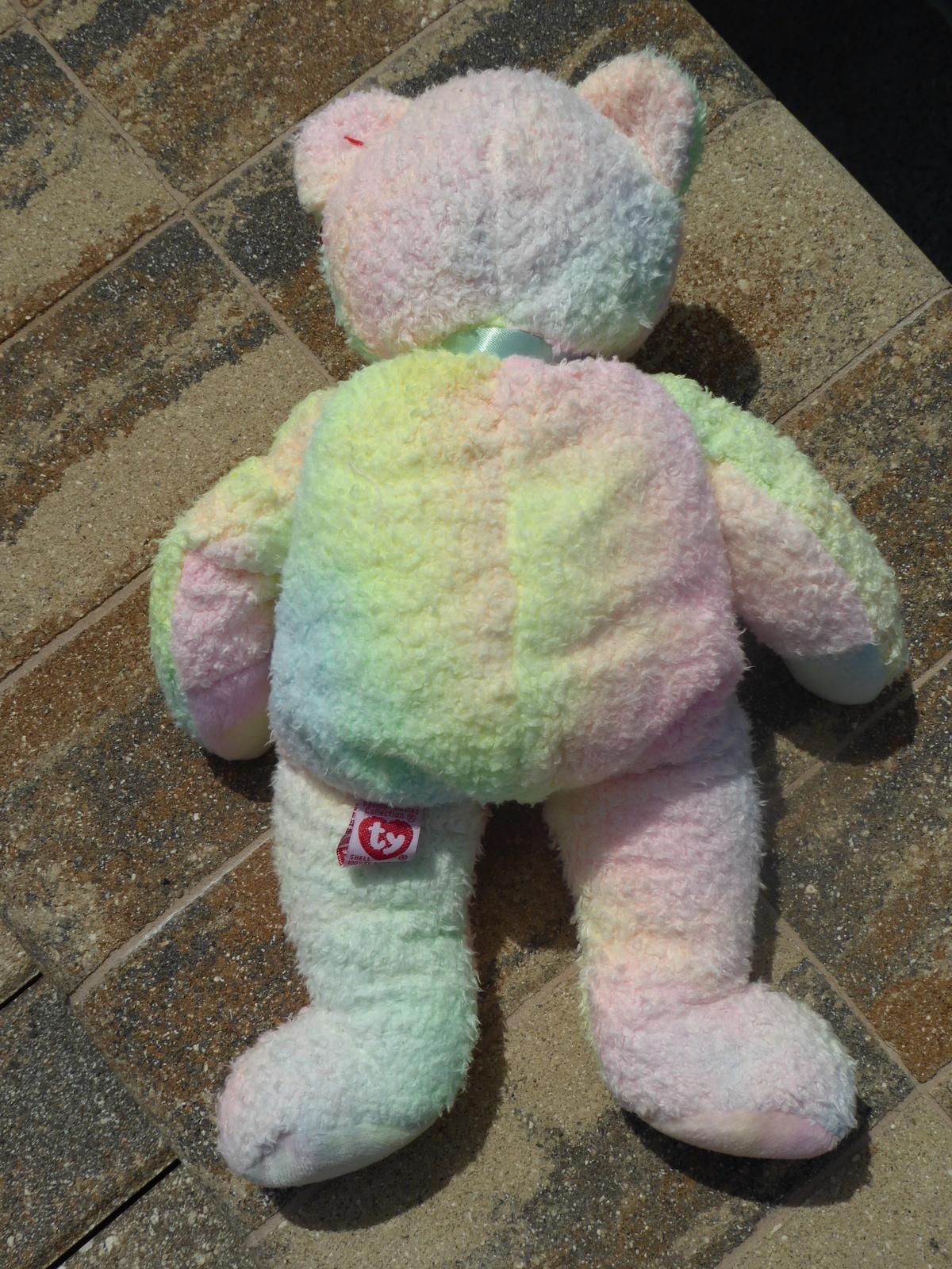 d84ff8d2d73 TY Beanie Babies Pillow Pal Groovy the Bear 13