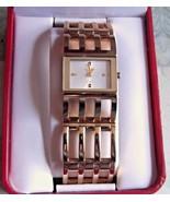 Puegeot Gold Tone Quartz Bracelet Watch - $46.74