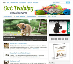 * CAT TRAINING TIPS * turnkey website business for sale w/ AUTOMATIC CO... - $90.70