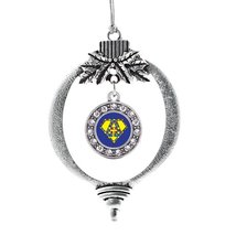 Inspired Silver Super Autism Awareness Circle Holiday Ornament - $14.69