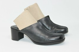 Clarks Size 8 M Black Slip on Mules #74486 Women's Comfort Career Work Shoes - $15.19