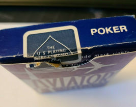Blue Aviator Poker 914 Deck of Playing Cards   (#015) image 3