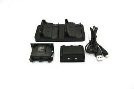 Xbox One S Controller Docking Ricarica Stazione 1200mAh Batteria Nero o ... - $21.78