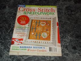 Cross Stitch & Needlework Magazine January 2010 Holiday Projects - $2.96