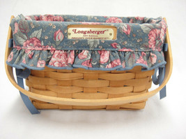 Longaberger 1997 Dresden Tour Basket II Fabric Liner & Protector 3 Signa... - $23.50