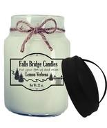 Lemon Verbena Scented Jar Candle, 26-Ounce, Handle Lid - $16.00