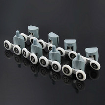 8Pcs Double Shower Door Rollers/Runners/Wheels TOP or BOTTOM 23mm Wheel - $25.05+