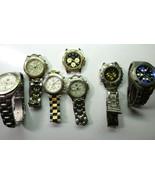 Fossil Guess Kobec Oscar Titanium quartz triple dial watches for repair ... - $179.23