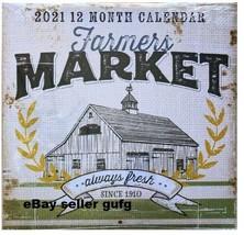 Farmers Market 2021 calendar HOT item NIP sealed ready to ship FAST SHIP... - $19.99