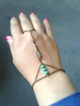 Arrow Slave Bracelet Bohemian Slave Bracelet Arrow Hand Chain Bohemian H... - $38.00