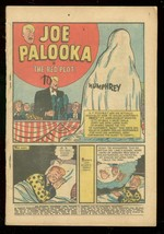 JOE PALOOKA #117 1960-HARVEY COMICS-RED PLOT-BLACK CAT FR - $18.62