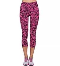 Nike Legendario Joyas Capris M Vivo Rosa Negro Corto Leggings Pantalones 683561 - $30.59