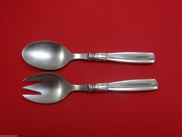 "Lotus by W&S Sorensen Sterling Silver Salad Serving Set 2pc HHWS  Small 7"" - $179.55"