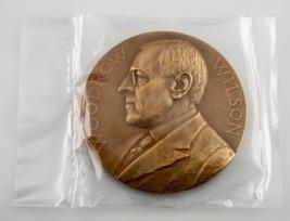 Woodrow Wilson Presidential Bronze Medal US Mint Department of the Treasury - $26.72