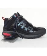 Polo Ralph Lauren Black Spielman Trail Shoes Hiking Ankle Shoes Mens NWT - $131.24