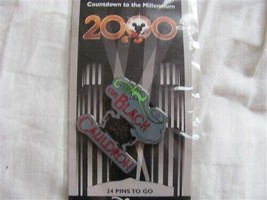 Disney Trading Pin 539 DS - Countdown to the Millennium Series #25 (Black Cauldr - $9.50
