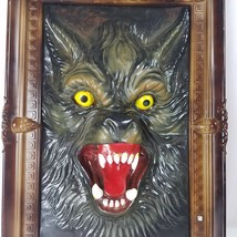 Werewolf Wolfman 3D Picture With Sound Eyes Glow Halloween Howling Framed - €46,13 EUR