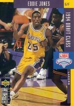 1994-1995 Upper Deck Collector's Choice Card Eddie Jones #415 LA Lakers NBA - $3.95
