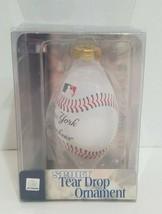New York Yankees Sport Tear Drop Ornament MLB Baseball Forever Collectib... - $14.54