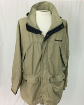 Timberland Weathergear Jacket Vintage 90s Mens Size XL Hooded - $24.74