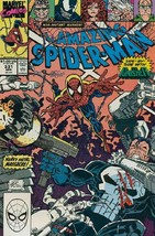 Amazing Spider-Man #331 F/VF 1990 Marvel vs Punisher Comic Book - $3.52