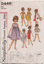 "Original Sewing Pattern for Tammy 12"" Doll Clothes. Cut & Complete 5446 - $4.99"