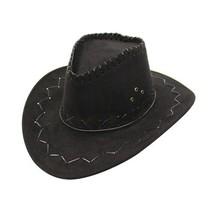 New Men Women Wild West Fancy Cowgirl Cowboy Hats Western Headwear Cap C... - $10.06