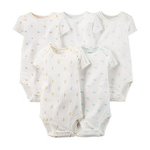 Carter's Baby Girls 5-pc. Printed Bodysuits, Ivory, 12 Months, 111A560IVY - $16.00