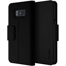 Incipio Breve Folio Wallet Case for Samsung Galaxy S8+ (Black) - $5.78