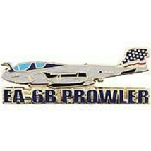 "WWII US Navy & Marine Bomber - EA-6B Prowler 1-1/2"" Pin - $7.91"