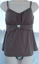 COCO REEF TANKINI & REVERSIBLE HIGH WAISTED/ROLL OVER BOTTOM,SIZE 32C/SMALL - $24.95