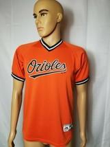 Baltimore Orioles Baseball Jersey Orange Majestic Cool Base #6 MLB Youth Large - $39.10
