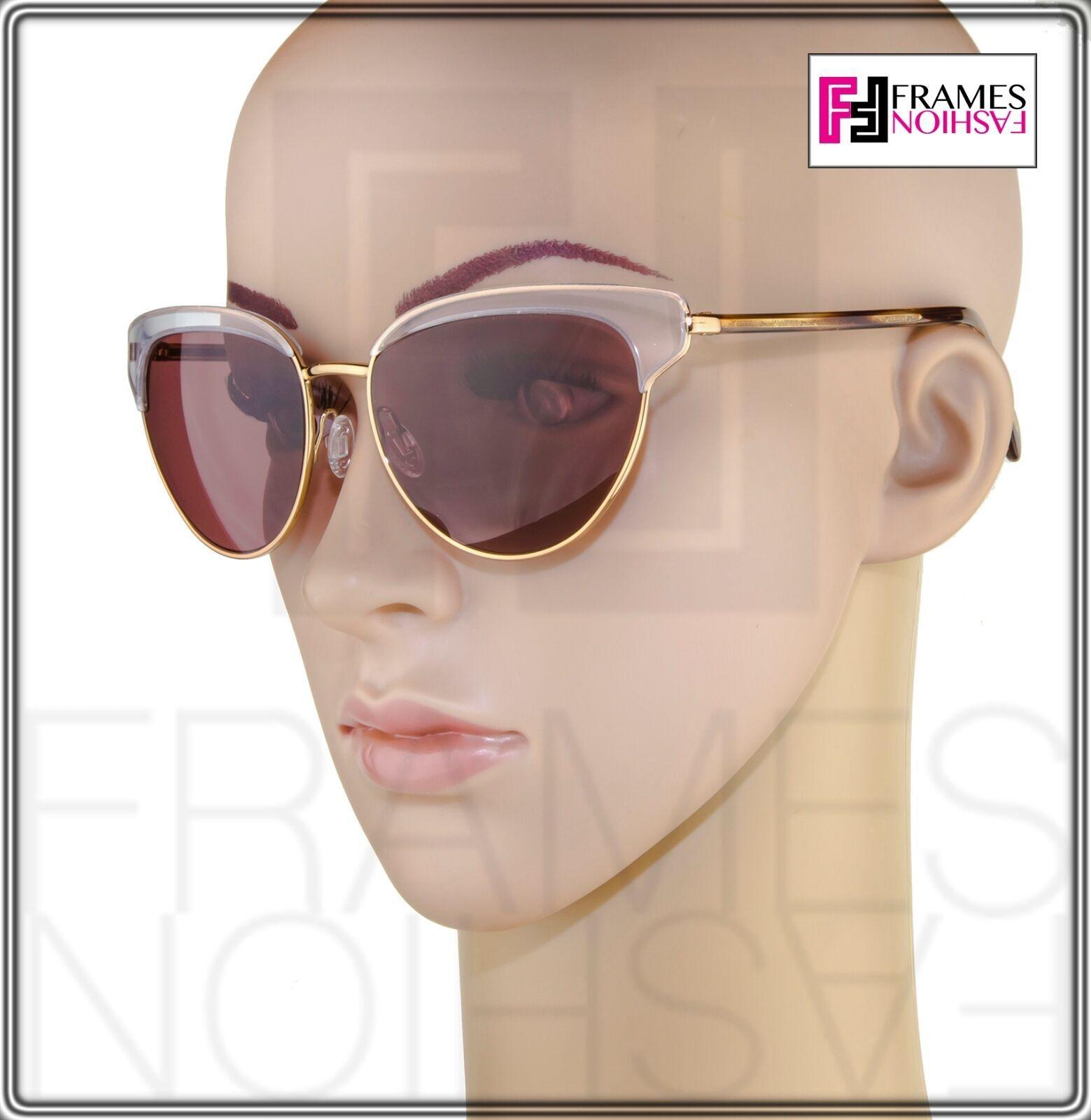 OLIVER PEOPLES JOSA OV1187S Rose Gold Pink Crystal Cat Eye Sunglasses 1187 image 2