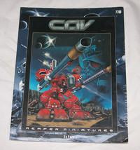 Cav Libro de Reglas Reaper Miniatures #7700 2001 Ed Pugh Combate Vehículo Asalto - $12.31