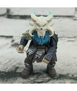 Fortnite Imaginext Ragnarok Figure Skull Blue Gray - $11.88