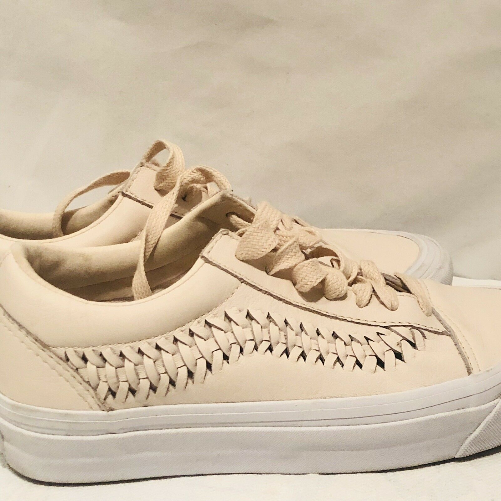 Vans Womens Lace up Shoes Sneakers Size 6 Herringbone